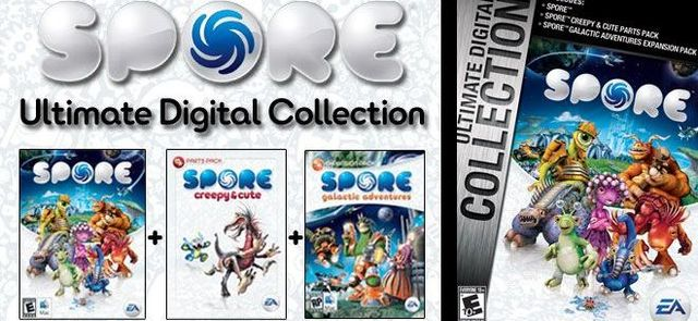 Spore Ultimate Digital Collection