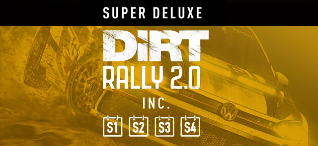 DiRT Rally 2.0 Super Deluxe Edition