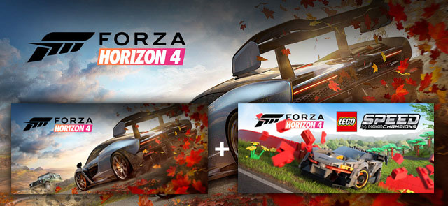 Forza Horizon 4 + LEGO Speed Champions (Windows 10 / Xbox One)
