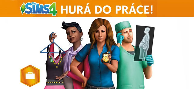The Sims 4 Hurá do Práce
