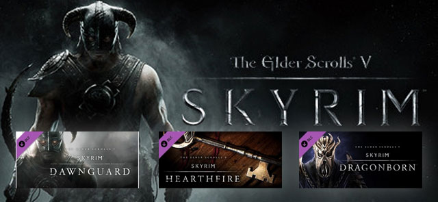 The Elder Scrolls V: Skyrim Triple DLC Pack